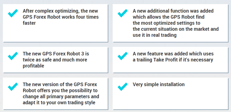 GPS Forex Robot Features