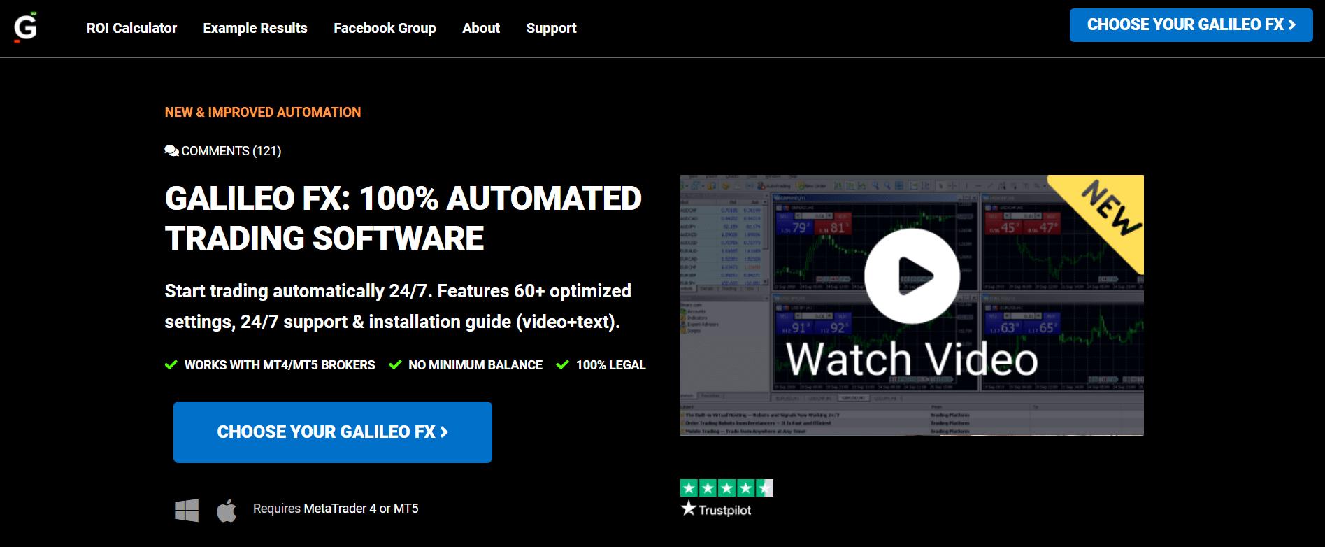 Galileo FX presentation