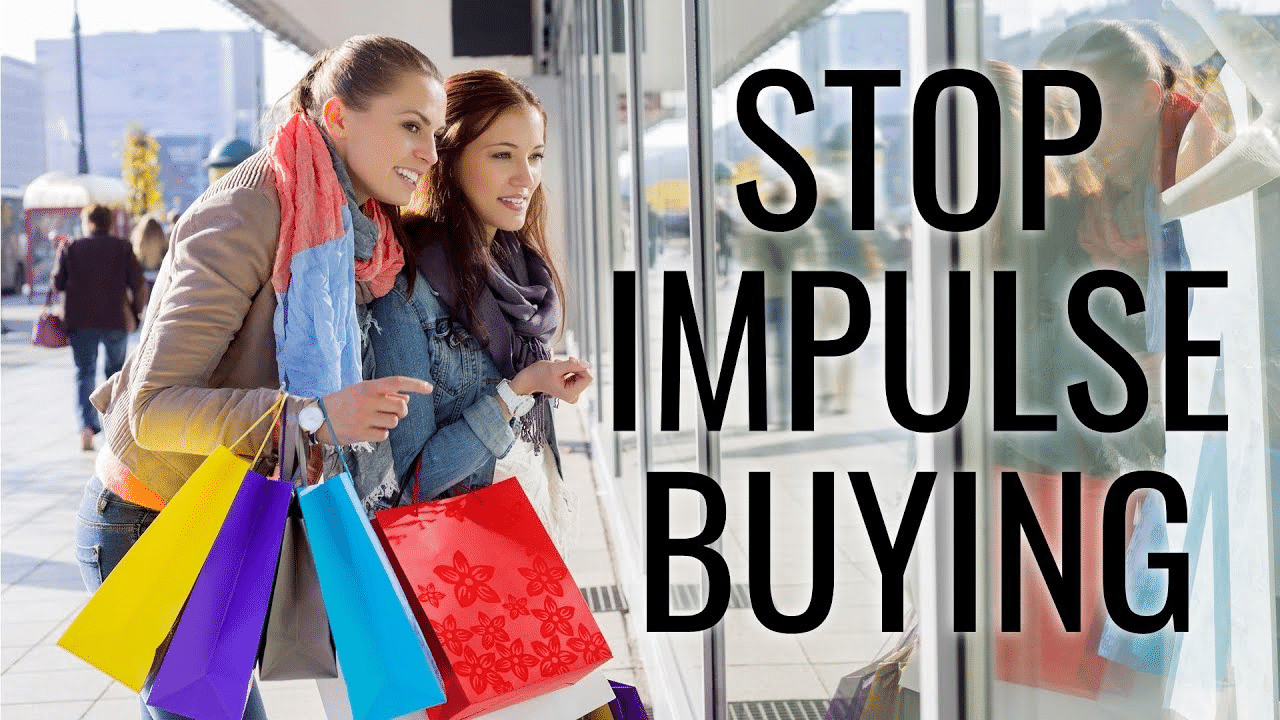 Stop impulse buying