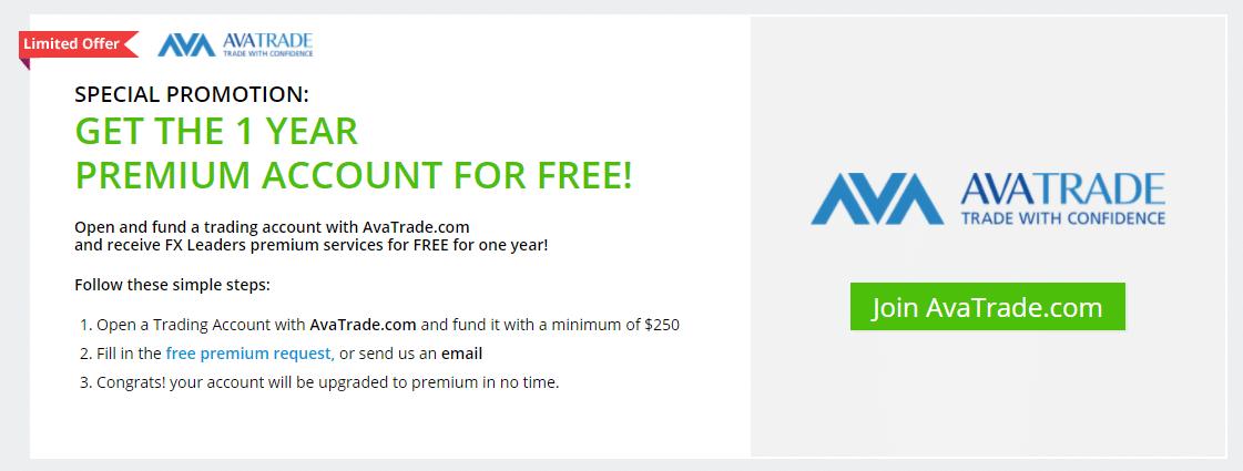 account on AvaTrade