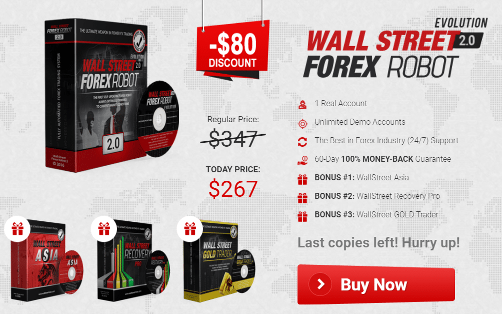 Wall Street Forex Robot Pricing