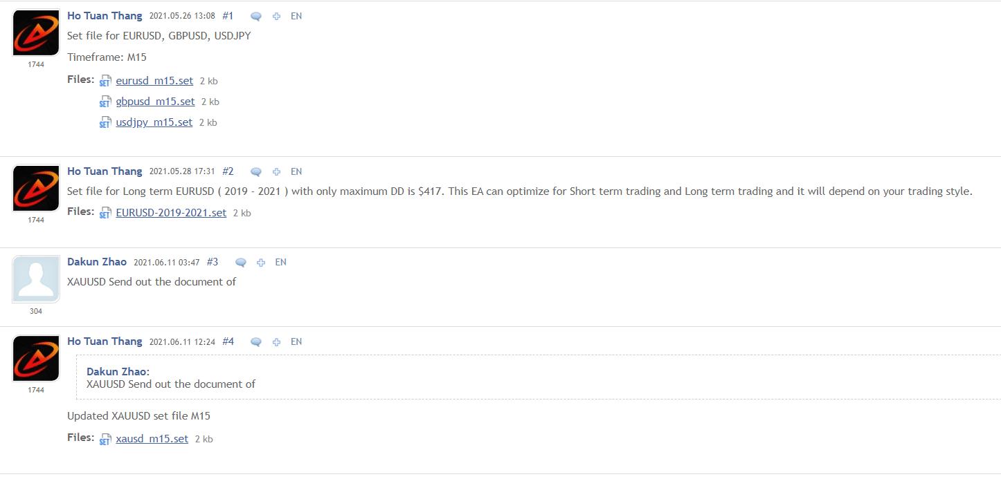 Advanced Hedge developer's statements