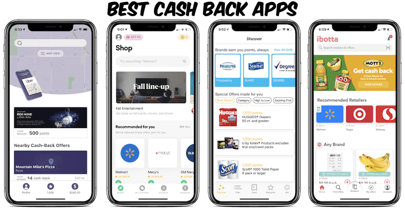 The top cashback apps