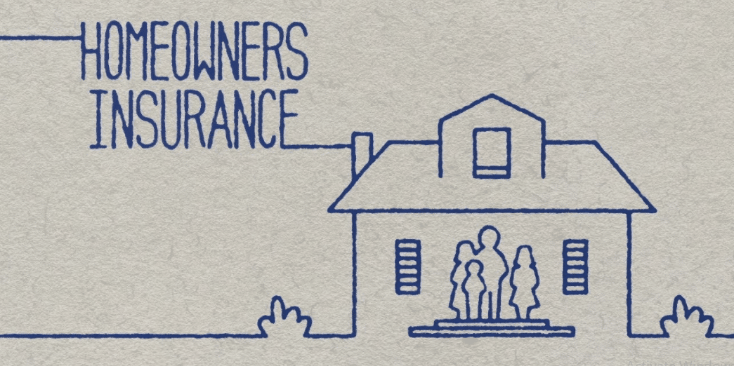 Illustration of homeowners insurance