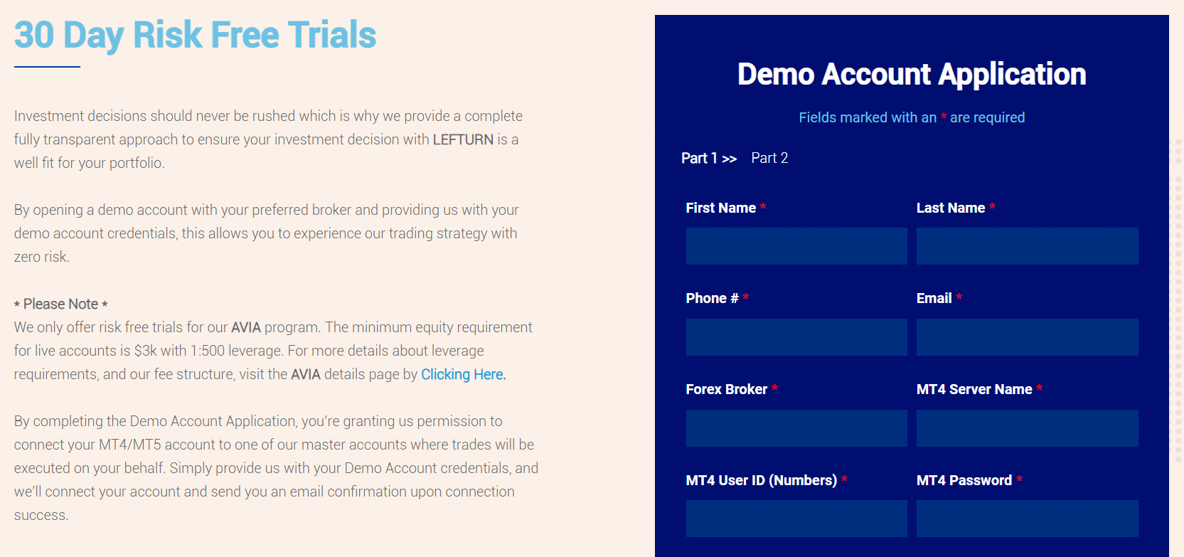 A 30-day free trial
