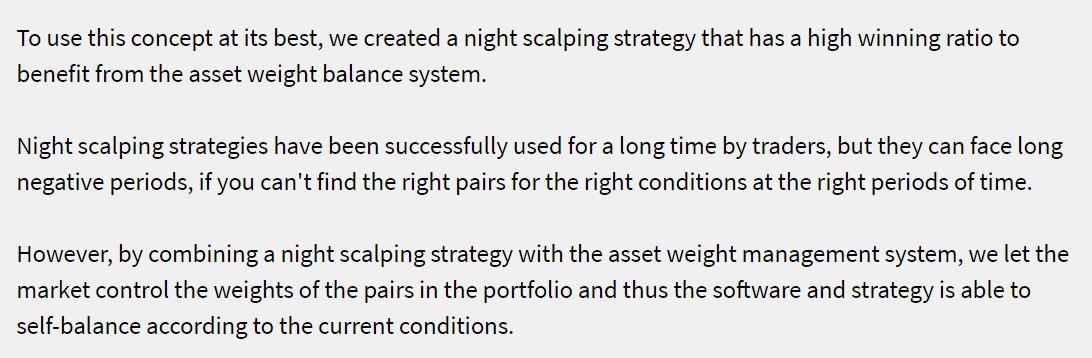 DynaScalp strategy details