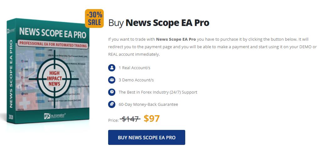News Scope EA Pro pricing