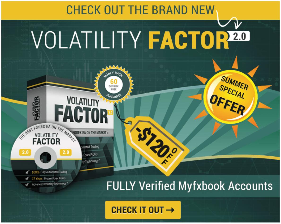 Volatility Factor 2.0 sale