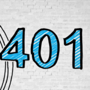 "marker lettering ""401K"""