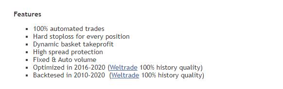 Features of True Range Pro